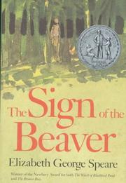 Cover of: The sign of the beaver | Elizabeth George Speare