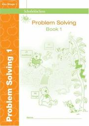 Cover of: Key Stage 1 Problem Solving by Paul Martin