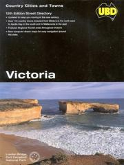 Cover of: Ubd Victoria Cities and Towns (UBD Street Directories) by Universal Business Directories Pty. Ltd