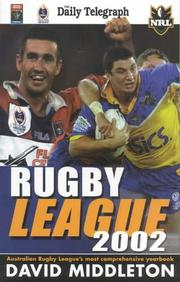 Cover of: National Rugby League by David Middleton