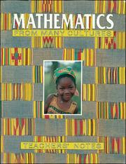 Cover of: Maths from Many Cultures Big Book, Year 1, Level B (B06) by Calvin Irons