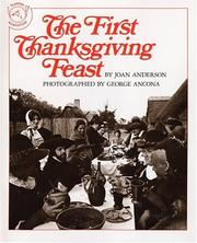 Cover of: The First Thanksgiving Feast | Joan Anderson