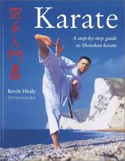 Cover of: The Karate Manual by Kevin Healy
