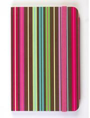 Cover of: Chocolate Stripes Pocket Size Journal by Galison/Mudpuppy