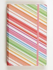 Cover of: Candy Stripes Pocket Size Journal | Galison/Mudpuppy
