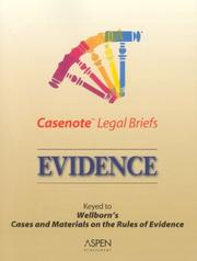 Cover of: Casenote Legal Briefs by Aspen Publishers