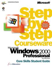 Cover of: Microsoft Windows 2000 by ActiveEducation
