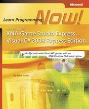 Cover of: Microsoft XNA Game Studio 2.0 by Rob S. Miles