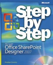 Cover of: Microsoft® Office SharePoint® Designer 2007 Step by Step by Penelope Coventry