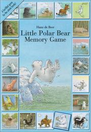 Cover of: Little Polar Bear Memory Game by North-South Staff