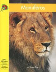 Cover of: Mamiferos/ Mammals by Jennifer Vanvoorst