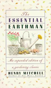 Cover of: The essential earthman / Henry Mitchell | Mitchell, Henry