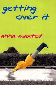 Cover of: Getting over it | Anna Maxted