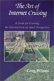Cover of: The Art of Internet Cruising by Greg Wilson