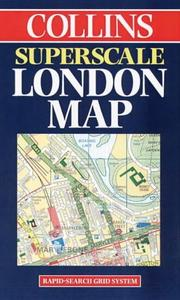 Cover of: Collins Superscale London Map | England) Collins (Firm : London