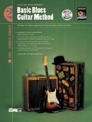 Cover of: Basic Blues Guitar Method by David Hamburger