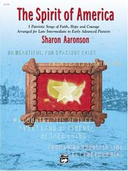 Cover of: The Spirit of America | Sharon Aaronson