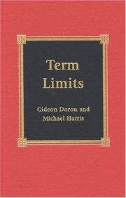 Cover of: Term Limits | Gideon Doron
