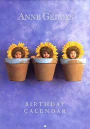 Cover of: Anne Geddes Birthday Calendar | Anne Geddes