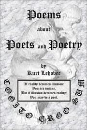 Cover of: Poems About Poets and Poetry | Kurt Lehovec