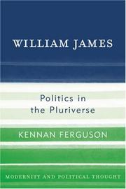 Cover of: William James by Kennan Ferguson