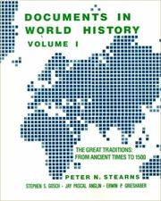 Cover of: Documents in World History | Peter N. Stearns