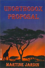 Cover of: Unorthodox Proposal by Martine Jardin