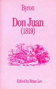Cover of: Don Juan (Annotated Student Texts) | Lord George Gordon Byron