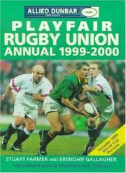 Cover of: Playfair Rugby Union 1999-2000 by Gallagher