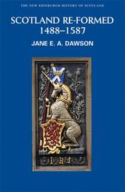 Cover of: Reform and Re-creation | Jane Dawson
