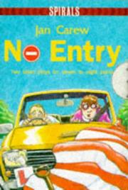 Cover of: No Entry | Jan Carew