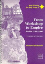 Cover of: From Workshop to Empire by Hamish Macdonald