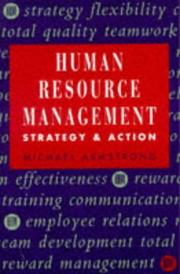 Cover of: Human Resource Management by Michael Armstrong