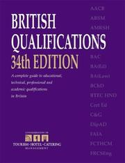 Cover of: British Qualifications by Kogan Page