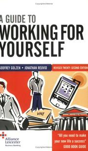Cover of: A Guide to Working for Yourself | Jonathan Reuvid