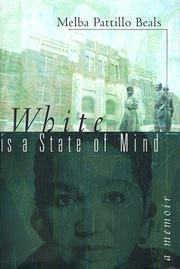 Cover of: White is a state of mind by Melba Beals