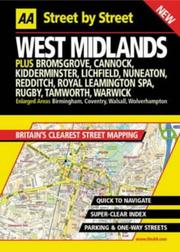 Cover of: West Midlands street by street | Automobile Association