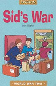 Cover of: Sid's War (Sparks) | Jon Blake