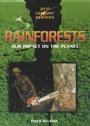 Cover of: Rainforests (21st Century Debates) by Ewan McLeish