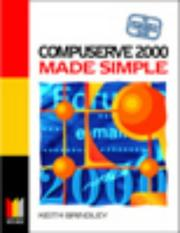 Cover of: Compuserve 2000 Made Simple | Keith Brindley