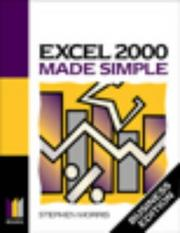Cover of: Excel 2000 Made Simple | Keith Brindley