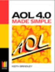 Cover of: AOL 4.0 Made Simple by Keith Brindley