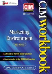 Cover of: CIM Coursebook 00/01 | Mike Oldroyd