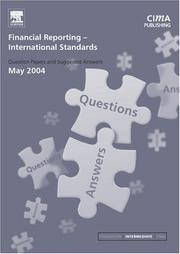 Cover of: Financial Reporting (International) Standards May 2004 Exam Q&As (CIMA May 2004 Q&As) | CIMA