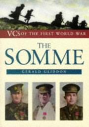 Cover of: The Somme | Gerald Gliddon