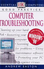 Cover of: Computer Troubleshooting (Essential Computers) | Andrew Easton