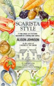 Cover of: Scarista Style by Alison Johnson