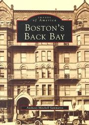 Cover of: Boston's Back Bay by Anthony Mitchell Sammarco