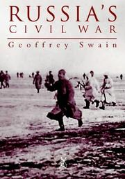 Cover of: Russia's Civil War by Geoffrey Swain