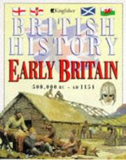 Cover of: Early Britain (British History) by Margaret Jackson